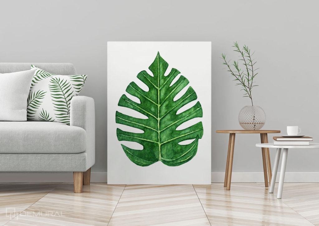 Obraz Tropikalny Liść - Fototapeta w tropikalne liście - Demural