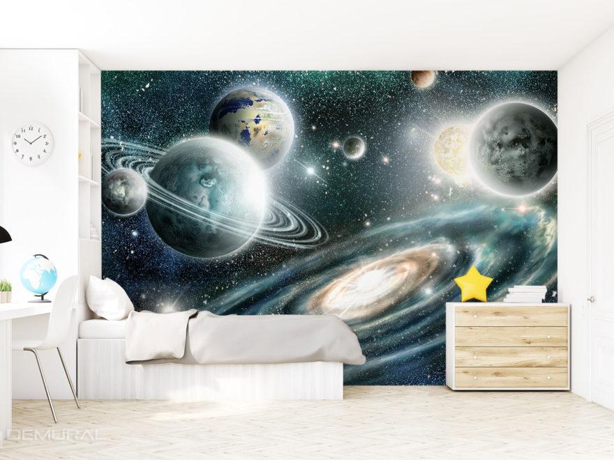 Fototapeta Podróże Kosmiczne - Fototapeta Kosmos - Demural