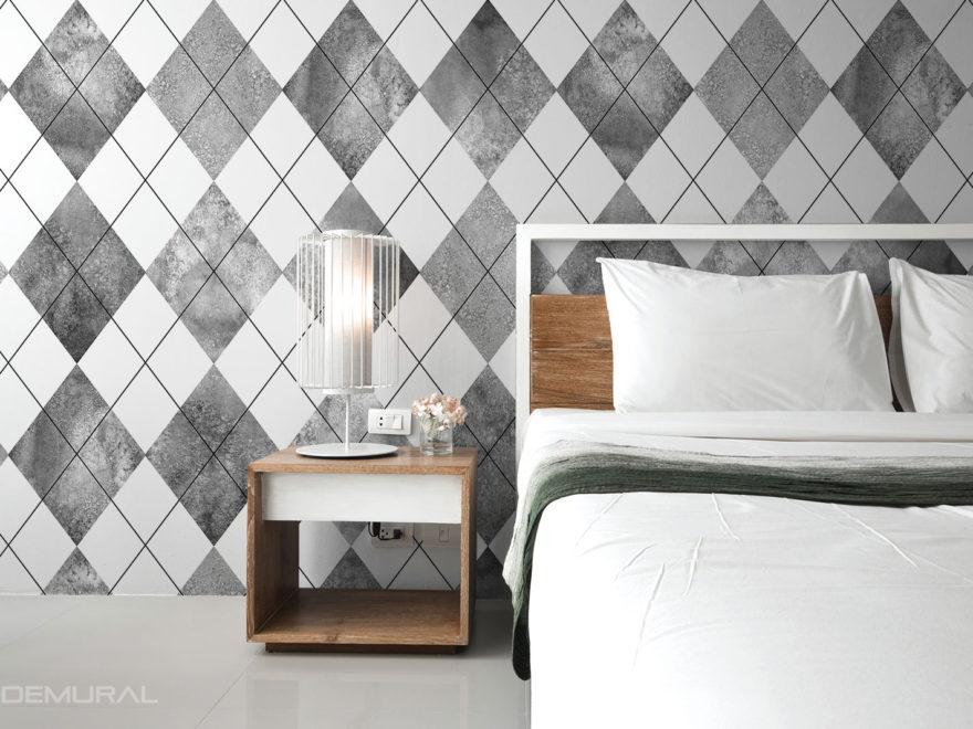 Geometria na ścianie - Fototapety z motywem geometrycznym - Demural