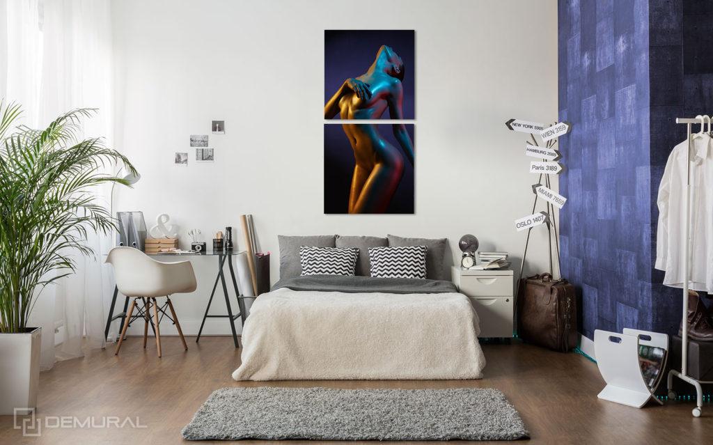 Obraz Sensualne Barwy - Obraz Akt - Demural