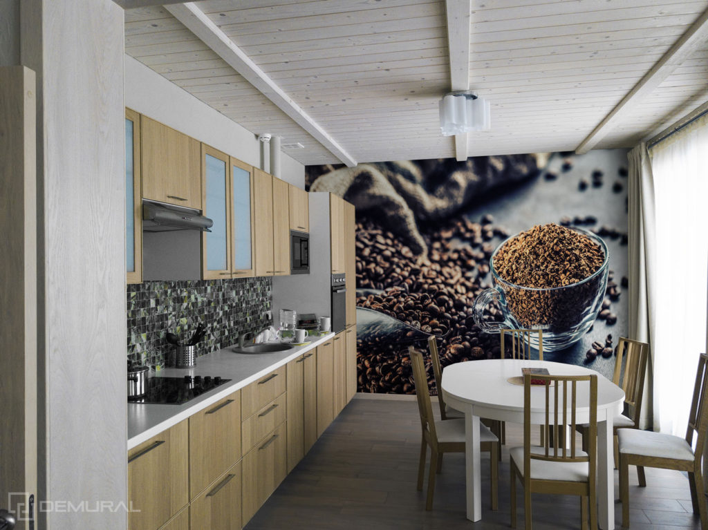 Fototapeta Aromat kawy - Fototapeta do dużej kuchni - Demural