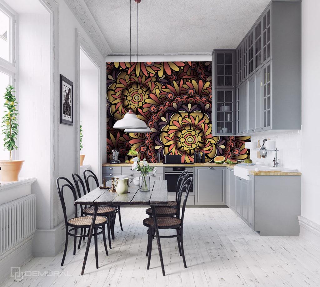 Fototapeta Stylowa mandala - Fototapeta do dużej kuchni - Demural