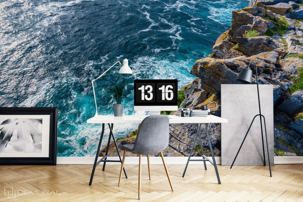 Fototapeta Morskie klify - Fototapeta z morzem do gabinetu - Demural