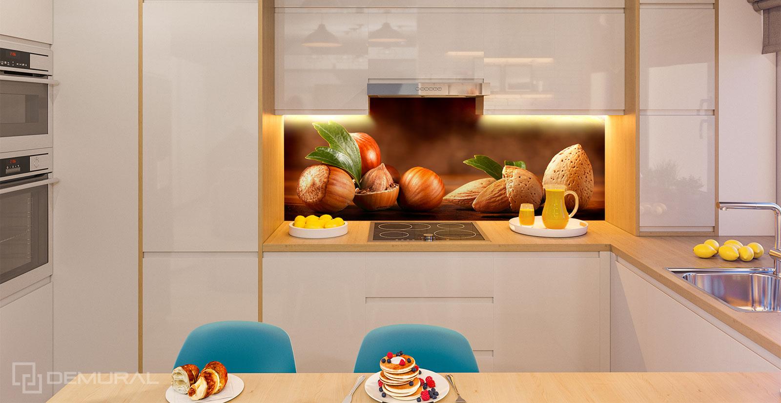 Fototapeta W twardej skorupce - Fototapety do małej kuchni