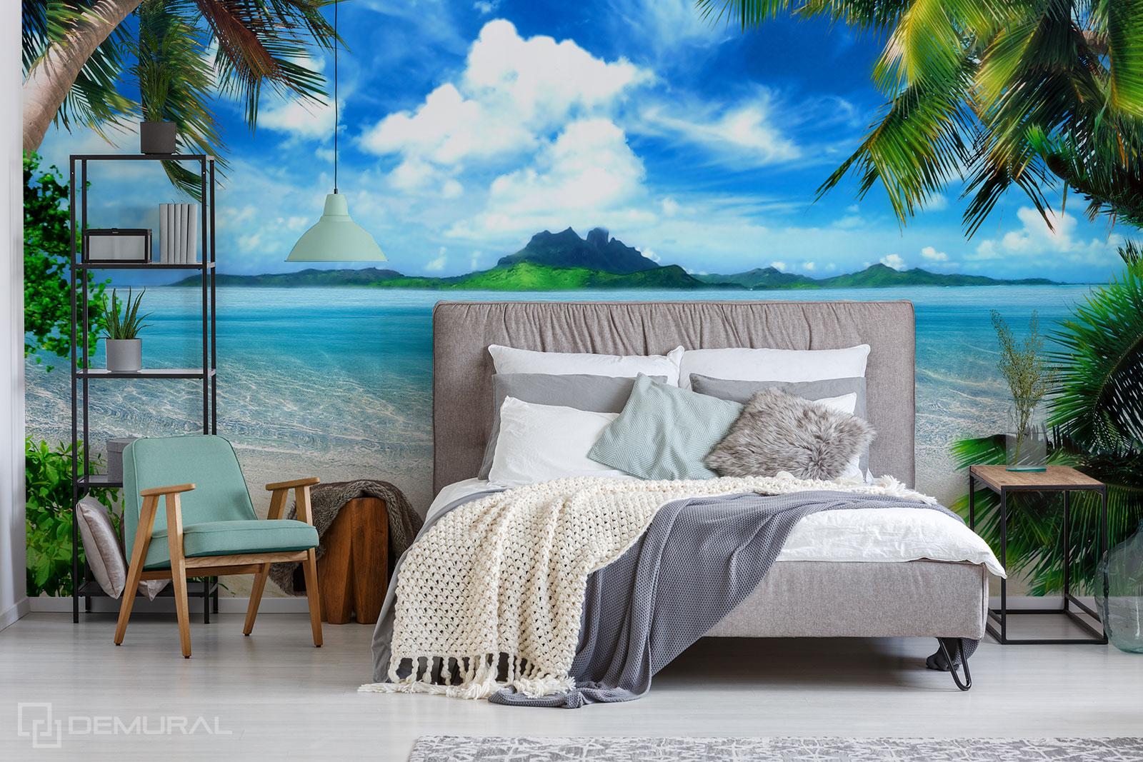 Fototapeta Pod palmami - Fototapeta z plażą - Demural