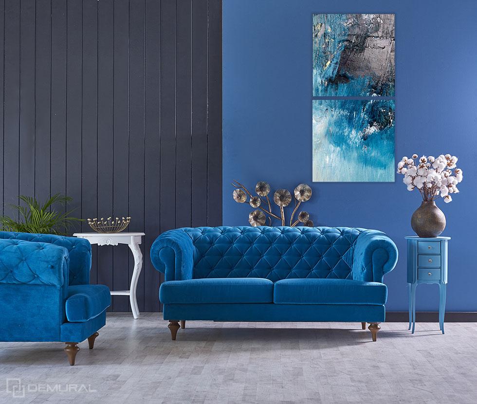 Obraz Abstrakcyjne morze - Obrazy do salonu - Demural
