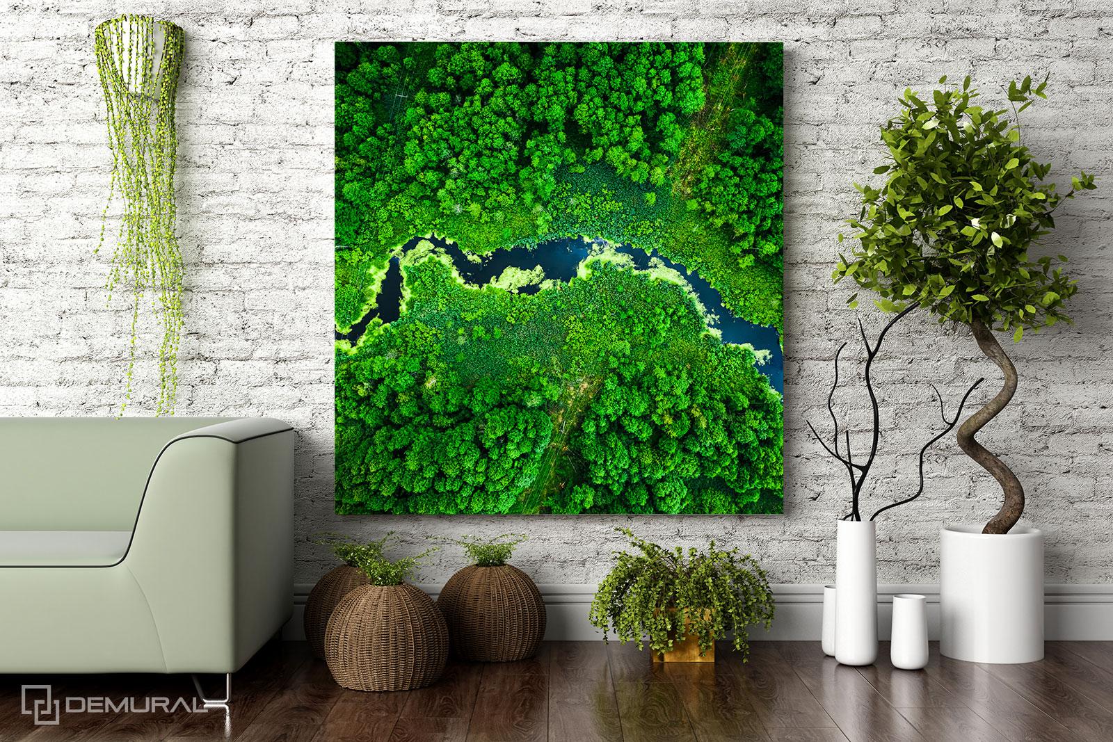 Obraz Rzeka marzeń - Fototapety i obrazy - Demural