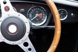 Wooden steering wheel - MGB roadster