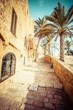 The old streets of Jaffa, Tel Aviv, Israel