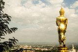Buddha statue in Wat Phra That Khao Noi, Nan Province, Thailand