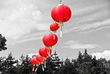 Red Chinese Paper Lanterns