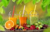 Fresh juice mix fruit