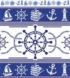 Banners with Nautical symbols