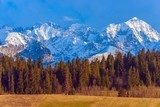 Polish Tatra Mountains Scenery
