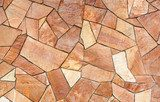 Terracotta Mosaic Background