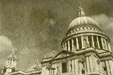 Vintage St. Paul's Cathedral in London