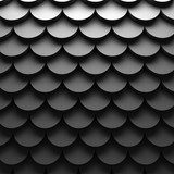 Abstract Dark Circle Pattern Wall Background