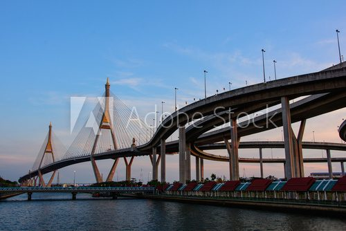 Bhumibol Bridge also casually call as Industrial Ring Road