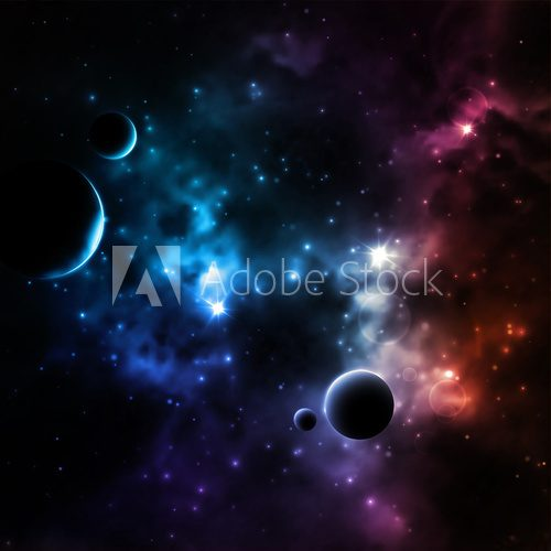 Galaxy background