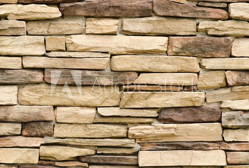 pattern of modern style decorative stone wall surface