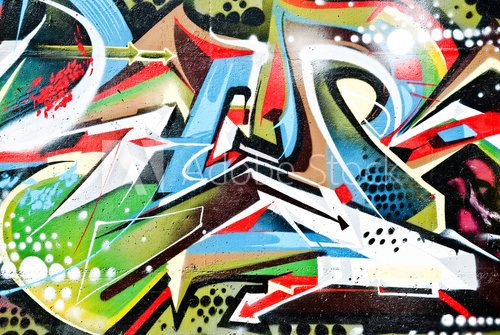 Abstract Graffity detail