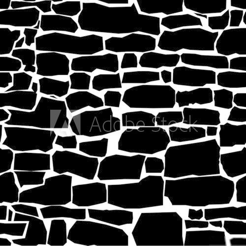 seamless texture of stone wall