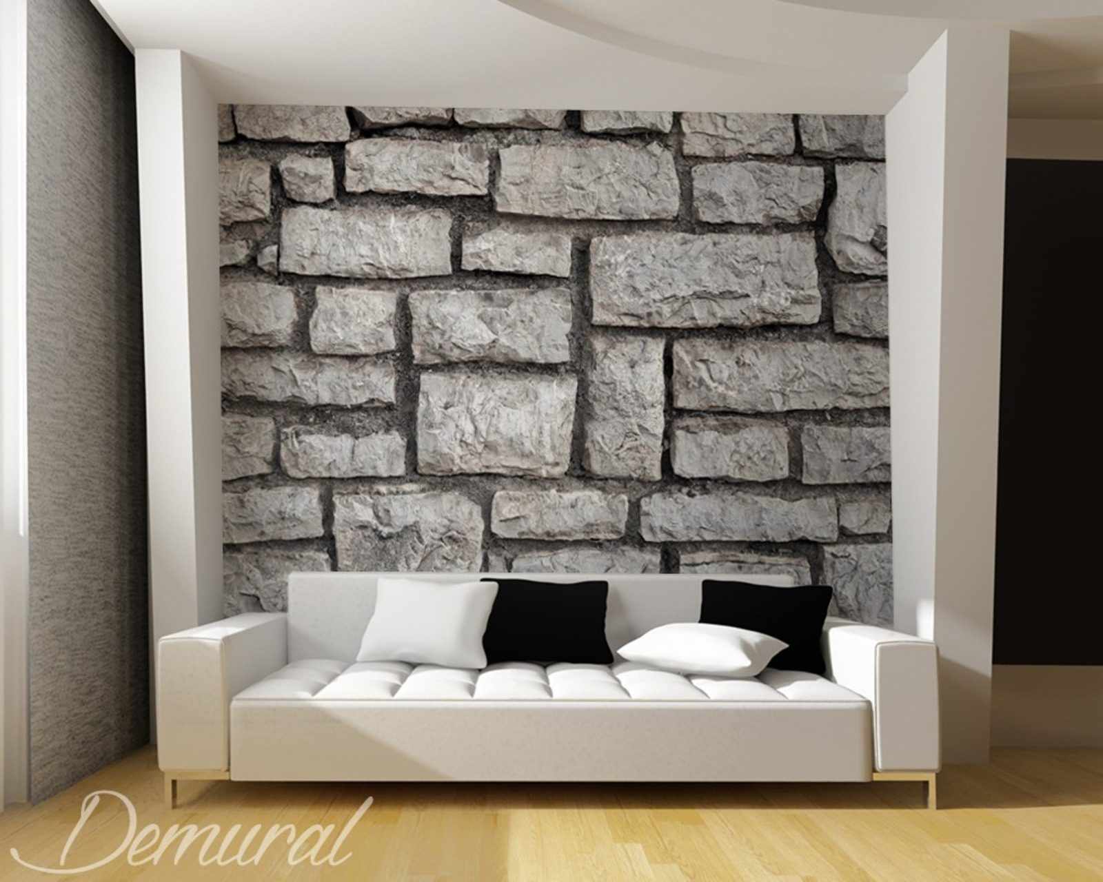 na mur beton fototapety do salonu fototapety demural. Black Bedroom Furniture Sets. Home Design Ideas