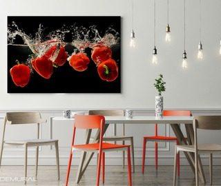 Obrazy nowoczesne na p tnie obrazy drukowane demural - Quadri per sala da pranzo ...